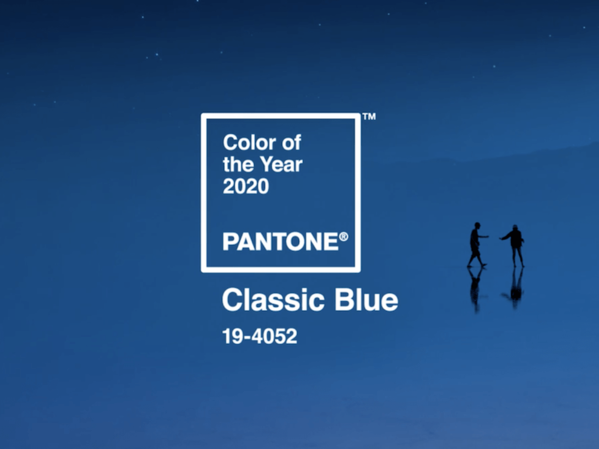 19-4052 Classic Blue is Pantone color of the Year 2020