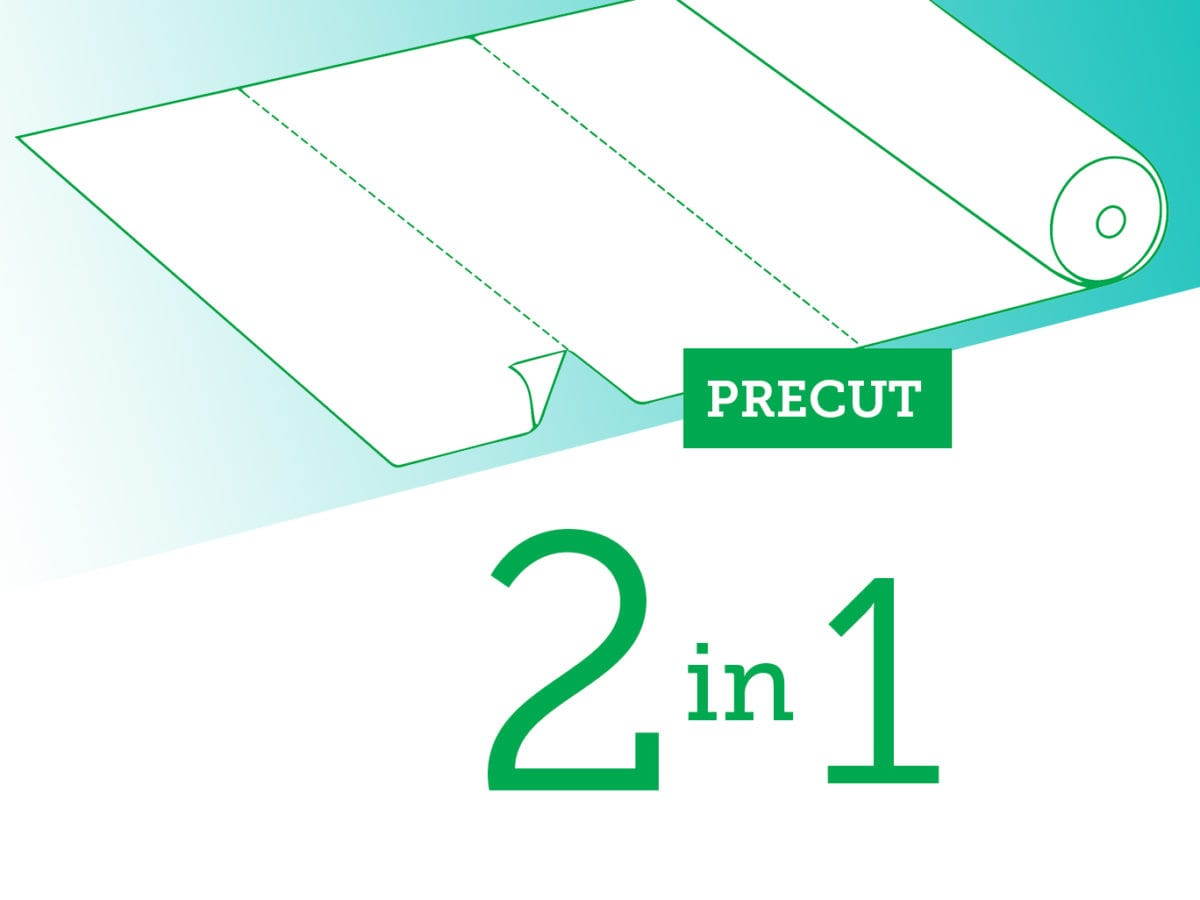Versatile with no folds: the new precut tablecloths in roll are on their way