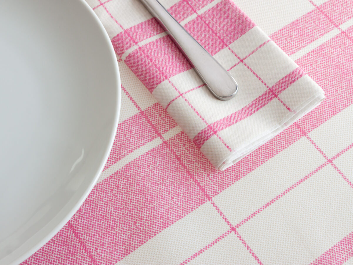 Airlaid folded tablecloths: at home just like the restaurant